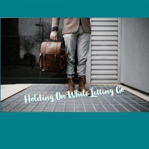 girl holding suitcase